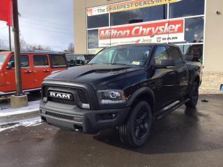 New 2019 RAM 1500 Classic WARLOCK 4X4 / RAMBOX / NAV / HEATED SEATS / HITCH for sale in Milton, ON