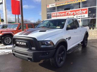 New 2019 RAM 1500 Classic WARLOCK 4X4 / NAV / HEATED SEATS AND STEERING WHEE for sale in Milton, ON
