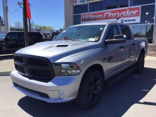 New 2020 RAM 1500 Classic CREW 4X4 NIGHT EDITION/SPORT HOOD/SIDE STEPS for sale in Milton, ON