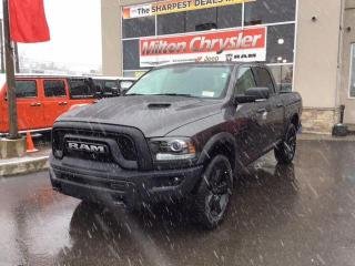 New 2019 RAM 1500 Classic WARLOCK CREW 4X4/NAV/HEATED SEATS AND STEERING WHE for sale in Milton, ON