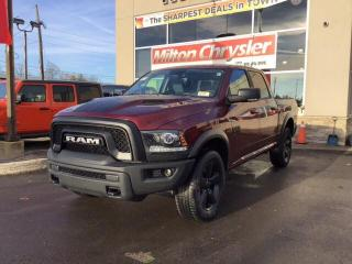 New 2019 RAM 1500 Classic WARLOCK CREW 4X4/NAV/HEATED SEATS/REMOTE START/HEA for sale in Milton, ON