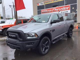 New 2019 RAM 1500 Classic WARLOCK 4X4 / HITCH / STEPS / HEATED SEATS & WHEEL for sale in Milton, ON