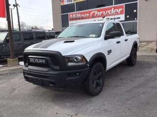 New 2020 RAM 1500 Classic WARLOCK QUAD 4X4 / LUXURY GRP / REM. START / SPORT for sale in Milton, ON