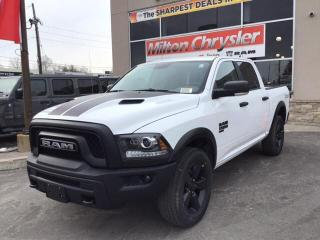 New 2020 RAM 1500 Classic WARLOCK CREW 4X4 / LUXURY GRP / REM. START / SPORT for sale in Milton, ON
