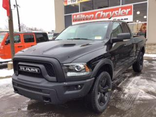 New 2019 RAM 1500 Classic WARLOCK 4X4 HEMI V8 / LUXURY GROUP / SPORT HOOD for sale in Milton, ON