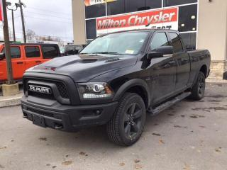 New 2019 RAM 1500 Classic WARLOCK CREW 4X4 / NAV / SPORT HOOD / STEPS / HITC for sale in Milton, ON