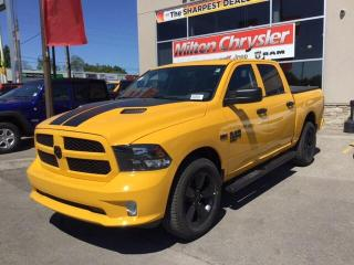 New 2019 RAM 1500 Classic EXPRESS STINGER YELLOW CREW 4X4 / HEMI / STEPS / H for sale in Milton, ON