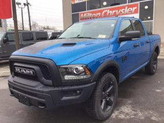 New 2020 RAM 1500 Classic WARLOCK CREW 4X4 HEATED STEERING WHEEL AND SEATS / for sale in Milton, ON