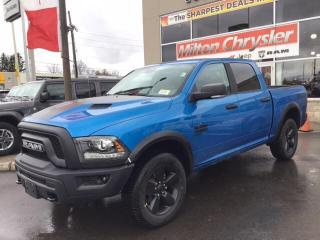 New 2020 RAM 1500 Classic WARLOCK CREW 4X4 / REMOTE START / SPORT HOOD for sale in Milton, ON