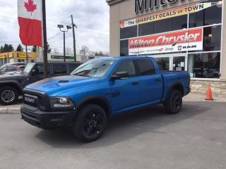 New 2020 RAM 1500 Classic WARLOCK CREW 4X4 / LUXURY GROUP for sale in Milton, ON