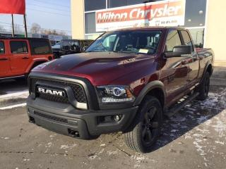 New 2019 RAM 1500 Classic WARLOCK 4X4 / SPORT HOOD / NAV / HITCH / SIDE STEP for sale in Milton, ON
