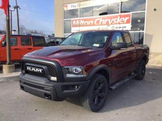 New 2019 RAM 1500 Classic WARLOCK 4X4/NAV/HEATED SEATS & STEERING WHEEL for sale in Milton, ON