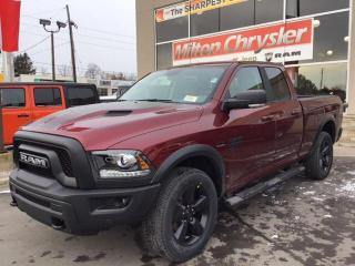 New 2019 RAM 1500 Classic WARLOCK 4X4/NAV/HITCH/SPORT HOOD/STEPS for sale in Milton, ON
