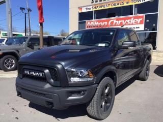 New 2020 RAM 1500 Classic WARLOCK CREW 4X4/LUXURY GROUP/SPORT HOOD for sale in Milton, ON