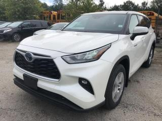 New 2020 Toyota Highlander HYBRID LE for sale in North Vancouver, BC
