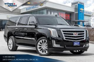 Used 2017 Cadillac Escalade ESV Luxury for sale in Richmond Hill, ON