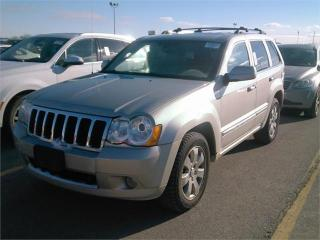 Used 2008 Jeep Grand Cherokee Overland for sale in Barrie, ON