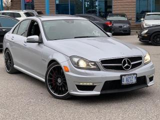 Used 2012 Mercedes-Benz C-Class C 63 AMG for sale in Barrie, ON