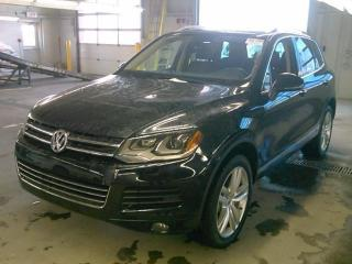 Used 2012 Volkswagen Touareg EXECLINE for sale in Barrie, ON