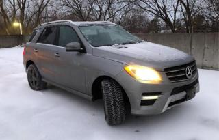 Used 2014 Mercedes-Benz ML-Class ML 350 BlueTEC for sale in Barrie, ON