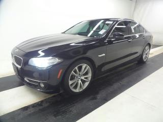 Used 2014 BMW 5 Series 535d xDrive for sale in Barrie, ON