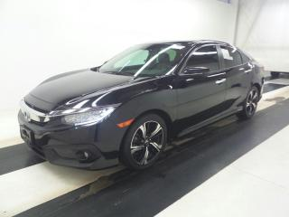 Used 2016 Honda Civic Sedan Touring for sale in Barrie, ON
