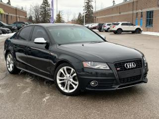 Used 2012 Audi S4 for sale in Barrie, ON