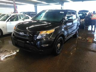 Used 2014 Ford Police Interceptor Utility for sale in Barrie, ON