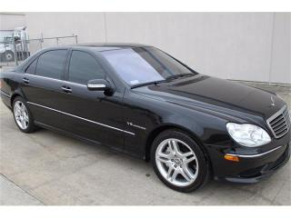 Used 2003 Mercedes-Benz S-Class S55 AMG for sale in Barrie, ON