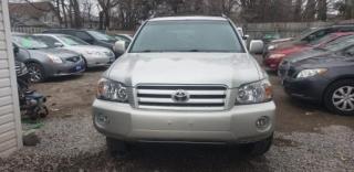 Used 2007 Toyota Highlander 4 door for sale in Oshawa, ON