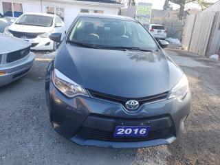 Used 2016 Toyota Corolla LE for sale in Oshawa, ON