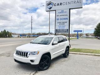 Used 2012 Jeep Grand Cherokee Laredo | 4X4 | LEATHER | PANORAMIC SUNROOF | for sale in Barrie, ON