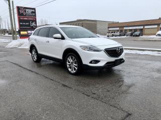 Used 2013 Mazda CX-9 GT | AWD | NAVI | LEATHER | 7 PASSENGER | for sale in Barrie, ON