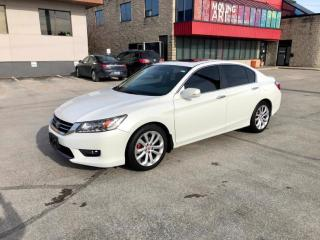 Used 2015 Honda Accord Touring | LEATHER | NAVI | ADVANCED SAFETY FEATURE for sale in Barrie, ON