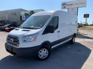 Used 2016 Ford Transit 250 Van Med. Roof w/Sliding Pass. 148-in. WB | DIESEL | 101A | REVERSE CAMERA AND PARK AID | for sale in Barrie, ON