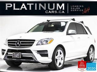 Used 2014 Mercedes-Benz ML-Class ML350d BlueTEC,4MATIC,NAVI,CAM,PANO ROOF,KEYLES for sale in Toronto, ON
