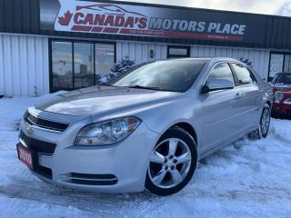 Used 2010 Chevrolet Malibu LT | PLATINUM PKG | LEATHER | BLUETOOTH | WOOD TRI for sale in Barrie, ON