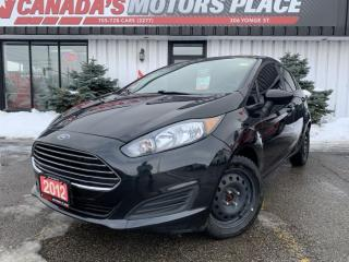 Used 2015 Ford Fiesta S | NO ACCIDENTS | BLUETOOTH | MEDIA CENTRE for sale in Barrie, ON