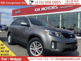 Used 2015 Kia Sorento LX | V6 | 1-OWNER | ACCDNT FREE | PRKNG SNSRS | for sale in Georgetown, ON