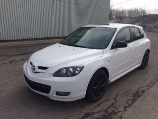 Used 2008 Mazda MAZDA3 2008 Hayon 4 portes Sport, boîte manuell for sale in Quebec, QC