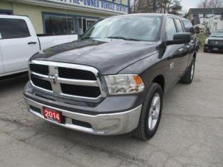 Used 2014 Dodge Ram 1500 GREAT VALUE SLT EDITION 6 PASSENGER 3.6L - V6.. 4X4.. QUAD-CAB.. SHORTY.. LEER-CAP.. TOW SUPPORT.. BLUETOOTH SYSTEM.. KEYLESS ENTRY.. for sale in Bradford, ON