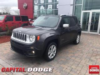 Used 2018 Jeep Renegade Limited for sale in Kanata, ON