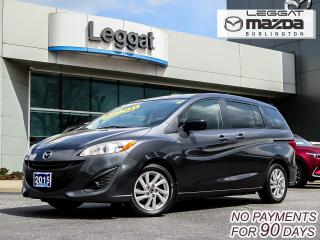 Used 2015 Mazda MAZDA5 GS- AUTOMATIC, BLUETOOTH, ALLOY WHEELS, A/C for sale in Burlington, ON