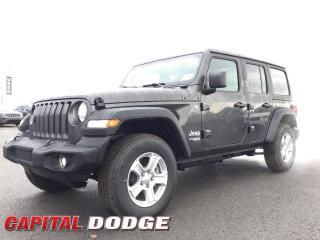 New 2020 Jeep Wrangler UNLIMITED SPORT for sale in Kanata, ON