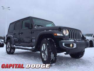 New 2020 Jeep Wrangler Unlimited Sahara for sale in Kanata, ON