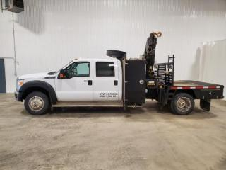 Used 2015 Ford F-550 Crew Cab DRW 4WD for sale in Dundurn, SK