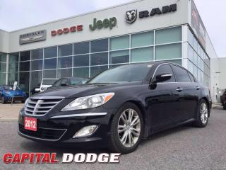 Used 2012 Hyundai Genesis Sedan w/Premium Pkg for sale in Kanata, ON