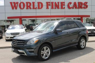Used 2012 Mercedes-Benz ML-Class | ML350 Bluetec | Diesel for sale in Etobicoke, ON
