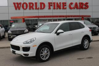 Used 2016 Porsche Cayenne | Accident Free *One-Owner* for sale in Etobicoke, ON