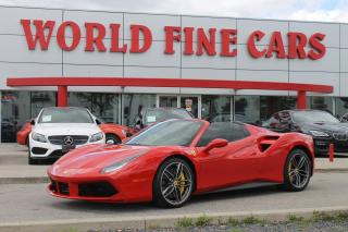 Used 2017 Ferrari 488 Spider | Rosso Corsa | Daytona Seats | 661 HP! for sale in Etobicoke, ON
